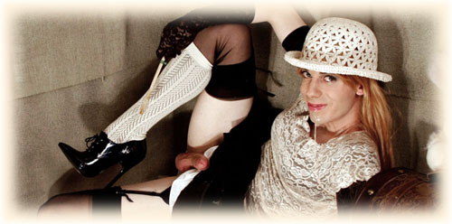 vintage sissy stockings